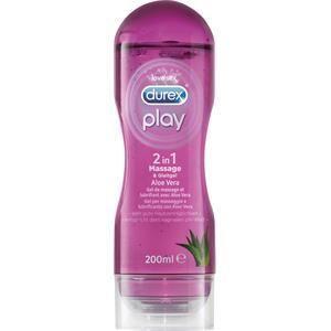 Durex Lust & Liebe Gleitgele Play 2 in 1 Massage & Gleitgel Aloe Vera 200 ml