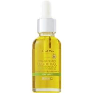 Logona Gesichtspflege Tagespflege Bio-Avocado & Inca Inchi Vitalisierendes Gesichtsöl 30 ml