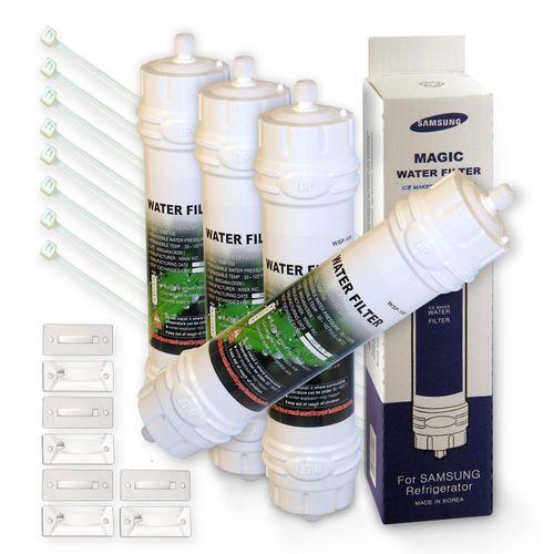 4x WSF-100 Magic Kühlschrankfilter für Samsung Kühlschrank