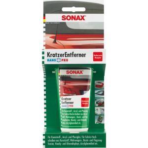 SONAX Kunststoff Kratzerentferner , Kratzentferner für die Hochleistungspolitur , 75 ml - Tube