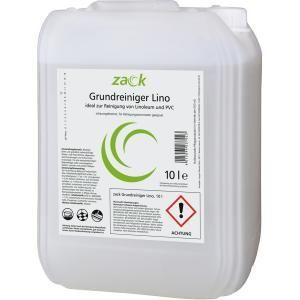 ZACK Grundreiniger für Linoleum, Spezial-Grundreiniger für Linoleum-Böden, 10 l - Kanister