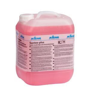 Kiehl Santex-plus Sanitär- und Schwimmbadreiniger, Sanitär-Grundreiniger und Schwimmbadreiniger, 10 l - Kanister