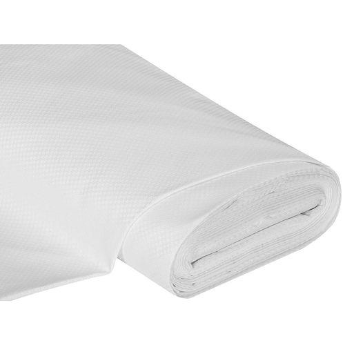 Gerstenkornstoff weiß, Breite: 183 cm