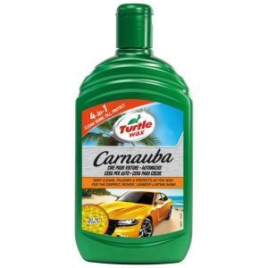 TURTLE WAX CARNAUBA Autowachs, Perfekter Wachs für die Autopolitur, 500 ml - Flasche