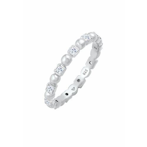 ELLI Ring Kristall Ring silber