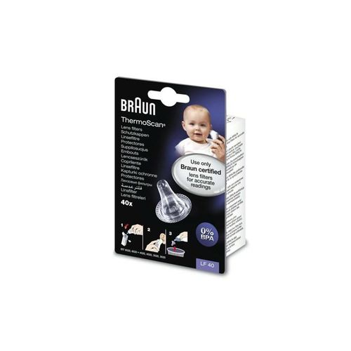 Braun Thermometer Lens Filter 40 Ct. Thermometer