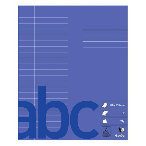 Bantex School Exercise Book 17X21 20 Lines Red