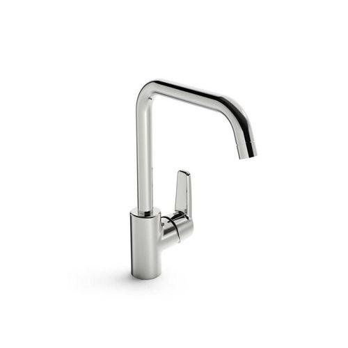 Oras saga 3931f kitchen faucet high swivel spout 120/60° fle