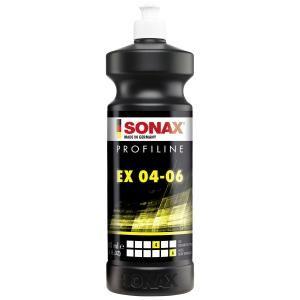 SONAX Profipolitur PROFILINE EX 04-06, Spezielle Politur für die Exzenterverarbeitung, 1000 ml - Flasche