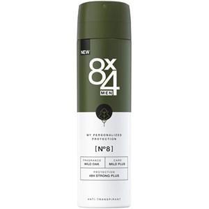 8x4 Deodorants Herren Deodorant Spray Nr. 8 Wild Oak 150 ml
