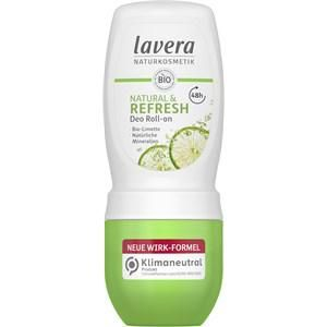 Lavera Körperpflege Body SPA Deodorants Natural & Refresh Bio Limette Deodorant Roll-on 50 ml