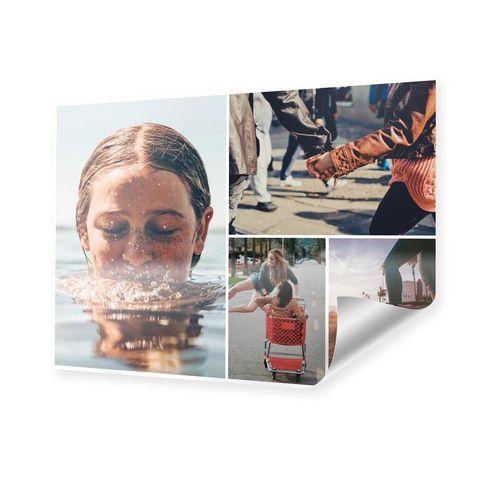 Fotocollage im Format 60 x 50 cm