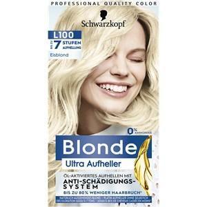 Blonde Haarpflege Coloration Ultra Aufheller L100 Eisblond 175 ml