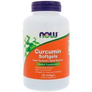 Curcumin Softgels, 120 Softgels (78,77 EUR pro 100g)