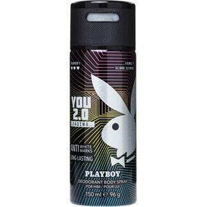 Playboy Herrendüfte YOU 2.0 Deodorant Body Spray 150 ml