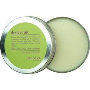 Jean & Len Körperpflege Deodorant Deocreme Zitronengras 50 ml
