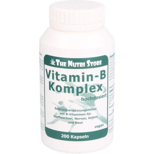 VITAMIN B KOMPLEX hochdosiert Kapseln 200 St.