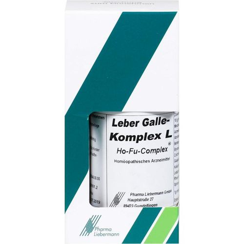 LEBER GALLE Komplex L Ho-Fu-Complex Tropfen 30 ml