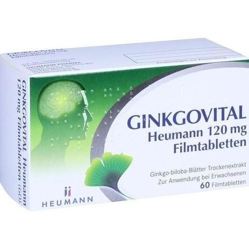 GINKGOVITAL Heumann 120 mg Filmtabletten 60 St.