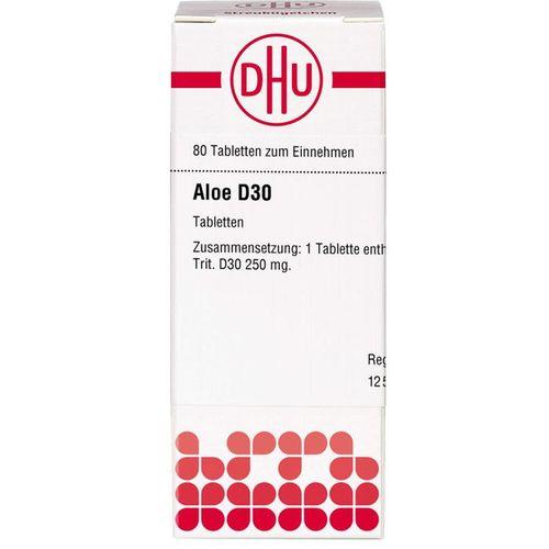 ALOE D 30 Tabletten 80 St.