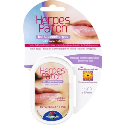 HERPES PATCH bei Lippenherpes 15 mm 15 St.