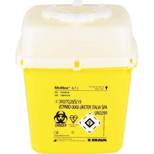 MEDIBOX Entsorgungsbehälter 4,7 l 1 St.