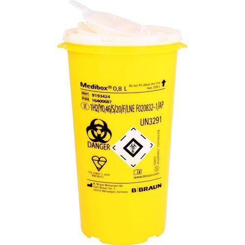 MEDIBOX Entsorgungsbehälter 0,8 l 1 St.