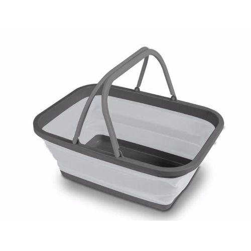 Faltbarer Waschkorb von Kampa, 46x34,5x19 cm, 1 Stück