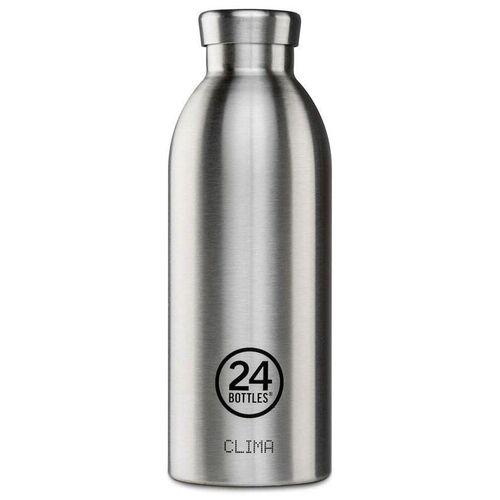 24 bottles Clima Bottle 0.5 L - Steel