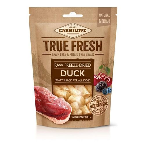 Carnilove Dog Snack True Fresh Duck with red fruits 40g Hundesnack