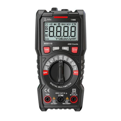 VA-LABs TrueRMS Digital-Multimeter, 4.000 Counts