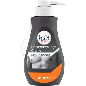 Veet Haarentfernung Cremes For Men Haarentfernungs-Gelcreme Sensitiv 400 ml