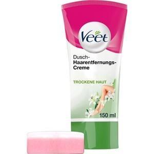 Veet Haarentfernung Cremes Trockene Haut Dusch-Haarentfernungs-Creme 150 ml