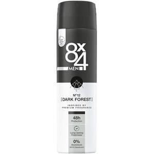 8x4 Deodorants Herren Deodorant Spray Nr. 12 Dark Forest 150 ml