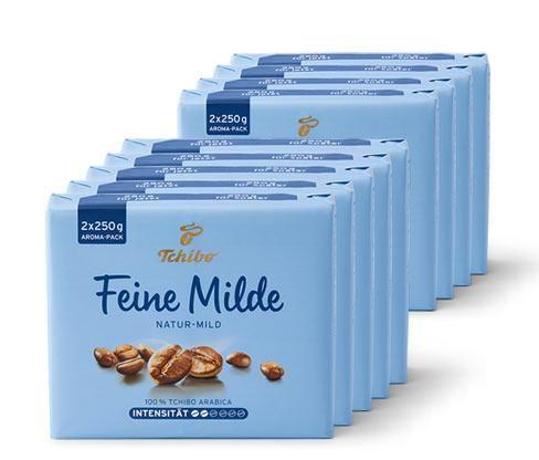 Feine Milde - 9x 500 g Gemahlen