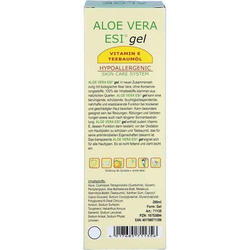 ALOE VERA GEL mit Vitamin E und Teebaumöl Bio 200 ml