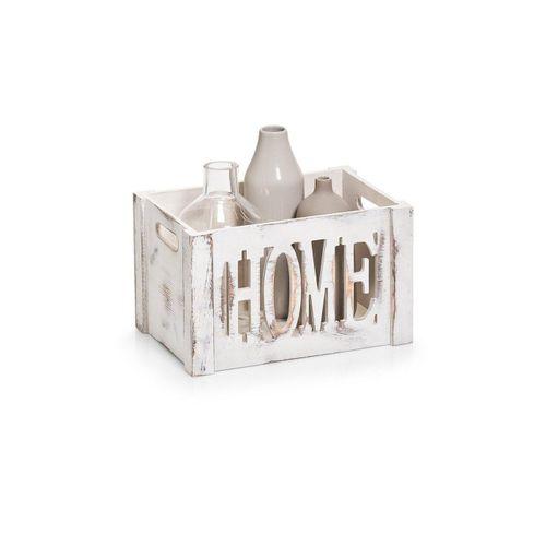 HTI-Living Aufbewahrungsbox »Aufbewahrungsbox Home«, Aufbewahrungsbox, weiß