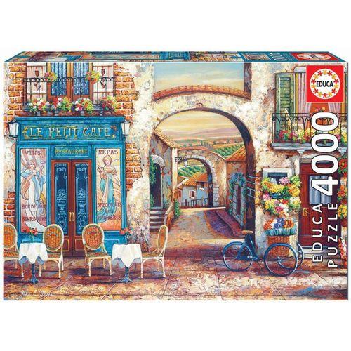 Educa Puzzle »LE PETIT CAFÉ«, 4000 Puzzleteile