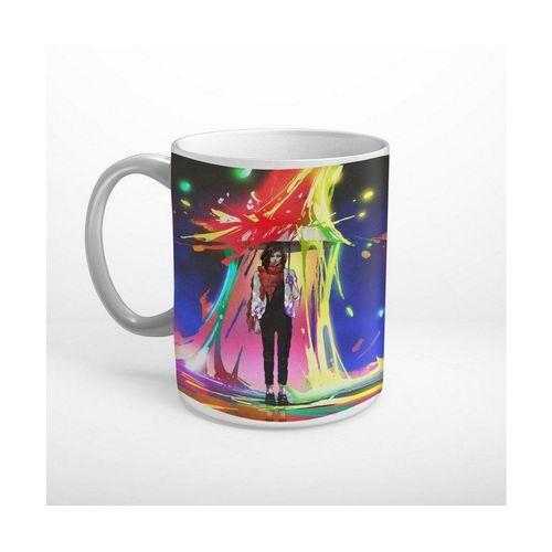 DesFoli Tasse »Regenbogen Regen Regenschirm Fantasy T1030«, Keramik