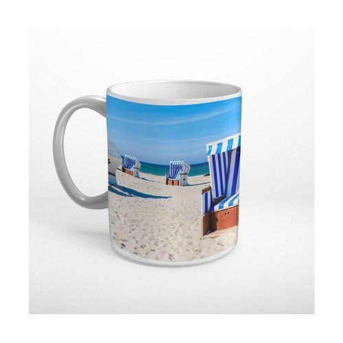 DesFoli Tasse »Sylt Strandkorb T1358«, Keramik