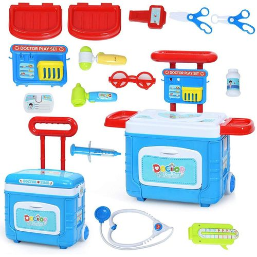 COSTWAY Kinderkoffer »Kinder Arztkoffer