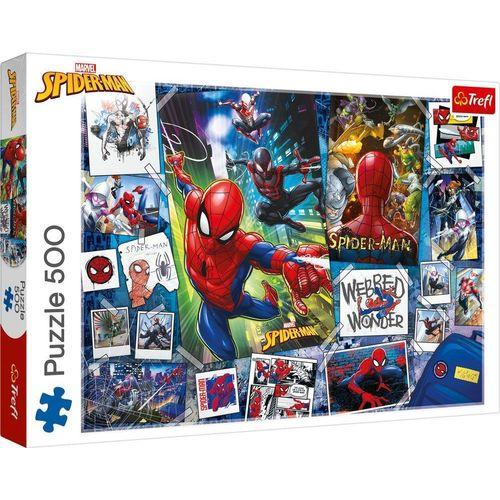 Trefl Puzzle »Trefl 37391 Marvel Spider-Man 500 Teile Puzzle