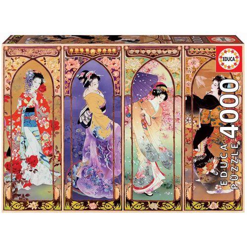 Educa Puzzle »JAPANISCHE COLLAGE«, 4000 Puzzleteile