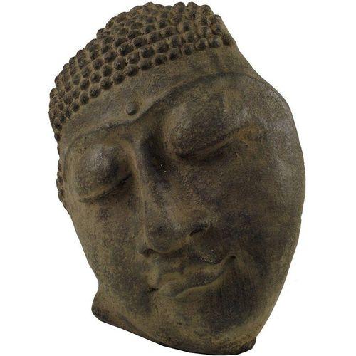 Guru-Shop Buddhafigur »Buddhafigur, Buddhamaske aus Stein«