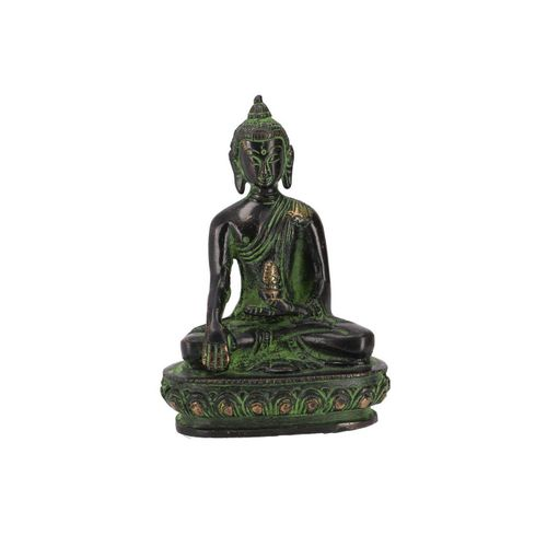 Guru-Shop Buddhafigur »Buddha Statue aus Messing Akshobaya Buddha 10..«