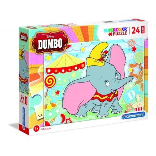 Clementoni® Steckpuzzle »Clementoni 28501 - Disney - Dumbo - Puzzle, Maxi, 24 Teile«, 250 Puzzleteile