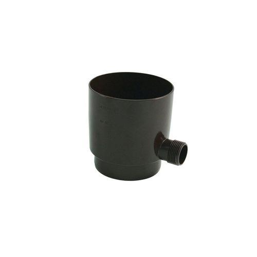 Marley Deutschland GmbH Regenrinne »Marley Regensammler für Fallrohr mit Überlaufstop DN 75mm Regenrohr Fallrohrfilter braun«, 1-St., Hoher Wirkungsgrad >95%