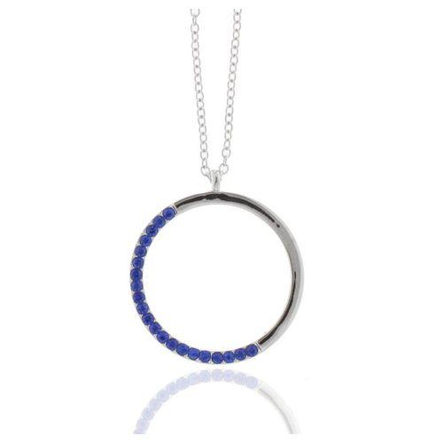 J & S JULIASS WELT Collier »Collier Kreis mit Kristallsteinen