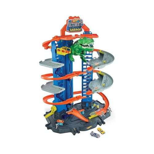 Mattel® Spiel-Parkgarage »Hot Wheels Megacity Parkgarage mit T-Rex-Angriff,«