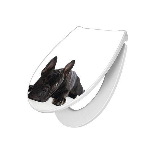 banjado WC-Sitz »Premium WC Sitz Bulldogge